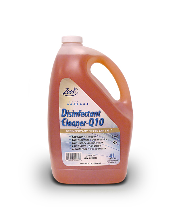 Zaal Quat 10 Sanitizer/Disinfectant Concentrate