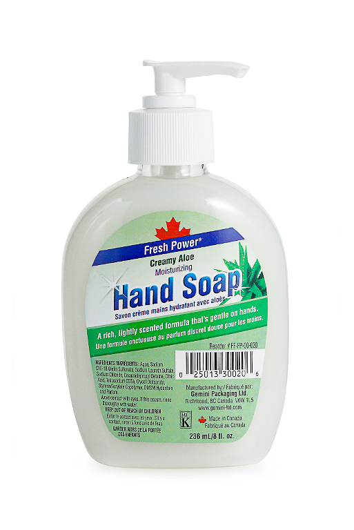Fresh Power White Moisturizing Hand Soap 236 Ml
