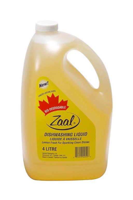 Zaal Lemon Dish Detergent